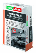 Mortier de réparation haute résitance et haute adhérence MORTIER DE REPARATION sac de 10kg - Gedimat.fr