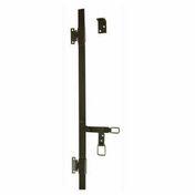 Espagnolette plate avec accessoires long.1,5m noir - Quincaillerie de volets - Menuiserie & Aménagement - GEDIMAT