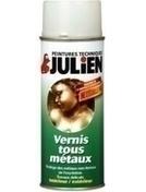 Vernis tous métaux incolore JULIEN aérosol de 400ml - Produits de finition bois - Peinture & Droguerie - GEDIMAT