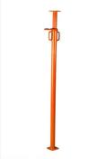 Etai acier extensible peint écrou acier série standard N°5 bis réglable de 2,20m à 3,80m - Rencontre 4 ouvertures arêtiers angulaires coloris ambre - Gedimat.fr
