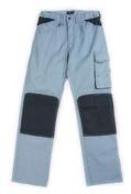 Pantalon de travail PROFIL TECHNIC T3 gris/noir - Fronton petit modèle pour faîtière 1/2 ronde et faîtière conique coloris référence 9 - Gedimat.fr