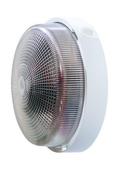 Hublot d'éclairage EBENOID rond polypropylène blanc et verre pour lampe à culot à baïonnette B22 100W maxi - Projecteurs - Baladeuses - Hublots - Electricité & Eclairage - GEDIMAT
