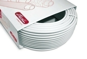 Tube multicouches NICOLL Fluxo nu diam.32mm ép.3mm couronne de 50 m - Cheville plastique 10x90 avec clou, pour fixation d'isolant rigide ép.50 à 60 mm, 500 pièces - Gedimat.fr