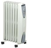 Radiateur écologique à convection sans huile NOC ECO 15 TLS 1500W Dim.:L.36xH.63,7xP.29cm blanc - Chauffage d'appoint - Chauffage & Traitement de l'air - GEDIMAT