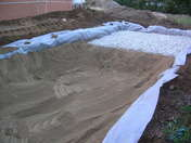Feutre géotextile BIDIM BATIGEO 6 larg.4m long.50m - Doublage isolant hydrofuge plâtre + polystyrène PREGYSTYRENE TH32 ép.10+110mm larg.1,20m long.2,60m - Gedimat.fr