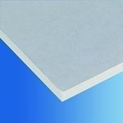 Plaque de pl�tre standard BA13 KNAUF KS �p.12,5mm larg.1,20m long.2,50m  - Profil PVC raccord clipsable pour lambris �p.8 � 10mm long.2,60m blanc - Gedimat.fr