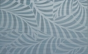 Décor Bahia carrelage pour mur en faïence GARDEN larg.25cm long.40cm coloris azul - Profil finition aluminium pour plan stratifié de 28mm chant avant double rayons de 6/8mm - Gedimat.fr