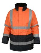 Parka de signalisation polyester classe III taille XL orange/bleu marine - Protection des personnes - Vêtements - Outillage - GEDIMAT