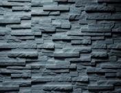 Plaquettes de parement en pierre reconstituée FIRENZE larg.19,5cm long.57,5 coloris black - Revêtement de cuisine - Cuisine - GEDIMAT Matériaux et Bricolage