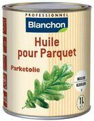 Huile pour parquet incolore 1L - Huile bardage 5L anthracite - Gedimat.fr