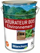 Saturateur bois environnement 5L ch�ne brule - Traitements curatifs et pr�ventifs bois - Couverture & Bardage - GEDIMAT