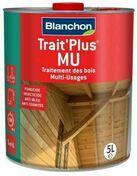 Trait ' plus mu 5L - Traitements curatifs et préventifs bois - Couverture & Bardage - GEDIMAT
