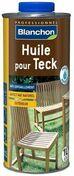 Huile pour teck aspect naturel 1L - Ardoise ARTOIT NATURA dim.40x40cm N°1 coloris noir - Gedimat.fr