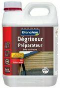Dégriseur bois 2,5 l - Saturateur bois environnement 0,75L chêne brule - Gedimat.fr