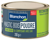 Mastic Bois Poudre sans odeur chêne clair 200g - Mastics - Peinture & Droguerie - GEDIMAT