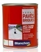 Vernis pavés/briques pot 1L satiné incolore - Traitements des dallages - Aménagements extérieurs - GEDIMAT