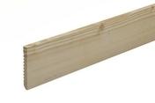 Plinthe Sapin du Nord angles vifs section 10x100mm long.2,40m - Moulures - Menuiserie & Aménagement - GEDIMAT