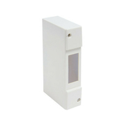 Coffret modulaire de distribution électrique blanc à équiper 1 module - Tableaux électriques - Electricité & Eclairage - GEDIMAT