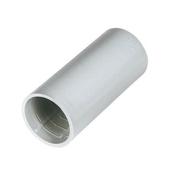 Manchon droit pour tube IRL coloris gris diam.16mm en sachet de 2 pièces - Gaines - Tubes - Moulures - Electricité & Eclairage - GEDIMAT