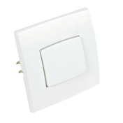 Interrupteur ou va et vient simple série PERFECT 6A coloris blanc mat sous film de 1 pièce - Enduit de parement traditionnel PARDECO TYROLIEN sac de 25kg coloris G05 - Gedimat.fr