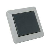 Interrupteur ou va et vient série OPALINE étanche 10A coloris gris - Verre synthétique pour intérieur ép.5mm larg.50cm long.1,00m - Gedimat.fr
