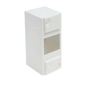 Coffret modulaire de distribution électrique blanc à équiper 4 modules - Tableaux électriques - Electricité & Eclairage - GEDIMAT