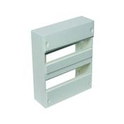 Coffret modulaire de distribution électrique blanc à équiper 2 rangées de 26 modules - Tableaux électriques - Electricité & Eclairage - GEDIMAT