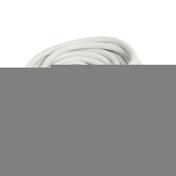 Rallonge prolongateur électrique mâle femelle 2 pôles + terre 16A avec cordon d'alimentation rond coloris blanc câble H05VVF 3G1,5mm² long.10m sur plaquette de 1 pièce - Rallonges - Enrouleurs - Electricité & Eclairage - GEDIMAT