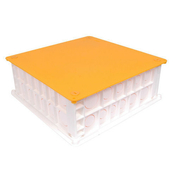 Boîte de comble pour raccordements électriques - Radiateur sèche-serviettes MARAPI VENTILO Blanc 1750W SAUTER - Gedimat.fr