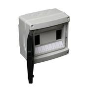Coffret électrique modulaire à équiper étanche coloris gris capacité 8 modules - Tableaux électriques - Electricité & Eclairage - GEDIMAT