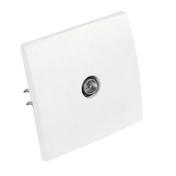 Prise télévision simple mâle diam.9,52mm série PERFECT coloris blanc mat sous film de 1 pièce - Enduit de parement traditionnel PARDECO TYROLIEN sac de 25kg coloris G05 - Gedimat.fr