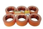 Adhésif toilé de façadier P334 Long.25m larg.48 mm Coloris orange lot de 4 + 2 gratuits - Colles - Adhésifs - Peinture & Droguerie - GEDIMAT