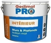 Peinture de finition acrylique GEDIMAT 10L blanc mat - Câble électrique méplat double isolation H05VVH2F section 2x1,5mm² coloris gris vendu à la coupe au ml - Gedimat.fr