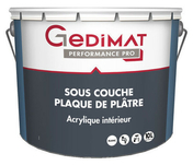 Impression acrylique opacifiante mate GEDIMAT pot de 10L blanc - Kit extension EVOKIT 500 pour colonne 60cm haut.2288mm long.1052mm prof.500mm - Gedimat.fr
