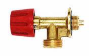Robinet adaptateur pour bouteille de gaz de type camping (à bille) - Soudure - Couverture & Bardage - GEDIMAT