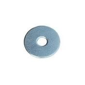 Rondelle plate très large acier zingué diam.4mm en boîte de 500 pièces - Boulons - Ecrous - Rondelles - Quincaillerie - GEDIMAT