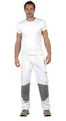 Pantalon de travail Profil Classic taille 6 blanc/gris - Bois Massif Abouté (BMA) Sapin/Epicéa traitement Classe 2 section 60x120 long.5,50m - Gedimat.fr