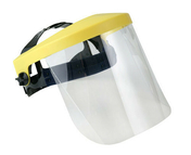 Protecteur facial relevable polycarbonate incolore - Protection des personnes - Vêtements - Outillage - GEDIMAT