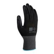 Gant tricoté polyamide enduit polyuréthane taille 8 noir - Protection des personnes - Vêtements - Outillage - GEDIMAT
