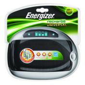 CHARGEUR UNIVERSEL POUR AA AAA C D 9V ENERGIZER - Piles - Torches - Electricité & Eclairage - GEDIMAT