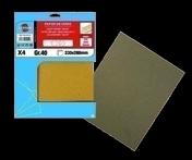 Lot de 8 feuilles papier de verre 230 x 280 grain 40 - Bois Massif Abouté (BMA) Sapin/Epicéa traitement Classe 2 section 80x120 long.9,50m - Gedimat.fr