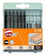 Coffret 10 lames de scie sauteuse universelles (8 BOIS + 2 METAL) - Consommables et Accessoires - Outillage - GEDIMAT