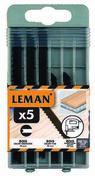 Coffret 5 lame de scie sauteuse B&D (4 BOIS + 1 METAL) - Consommables et Accessoires - Outillage - GEDIMAT