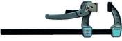 Serre-joint puissant Tige acier saillie 80 section 20x5 serrage 300 - Consommables et Accessoires - Outillage - GEDIMAT
