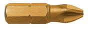 Boite 2 embouts de vissage TITANE POZIDRIV PZ N°3 / 25mm - Consommables et Accessoires - Outillage - GEDIMAT