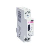 Contacteur modulaire domestique pour tarif heures creuses bipolaire 20A - Boîte de dérivation électrique série BEJING pour pose en saillie coloris blanc - Gedimat.fr