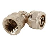 Raccord coudé à compression pour multicouche diam.16mm Alizé'O écrou mâle fixe 15x21 - Tubes et Raccords d'alimentation eau - Plomberie - GEDIMAT
