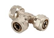 Té égal à compression Alizé'O pour tube multicouche diam.16mm - Tubes et Raccords d'alimentation eau - Plomberie - GEDIMAT