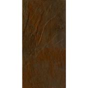 Carrelage pour mur en faïence NORDKAPP larg.20cm long.40cm coloris marron - Porte-fenêtre bois exotique lamellé collé sans aboutage isolation totale 100mm 2 vantaux ouvrant à la française vitrage transparent haut.2,05m larg.1,20m - Gedimat.fr
