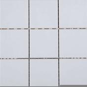 Carrelage pour sol en grès émaillé antidérapant dim.10x10cm coloris white - Carrelages sols intérieurs - Cuisine - GEDIMAT